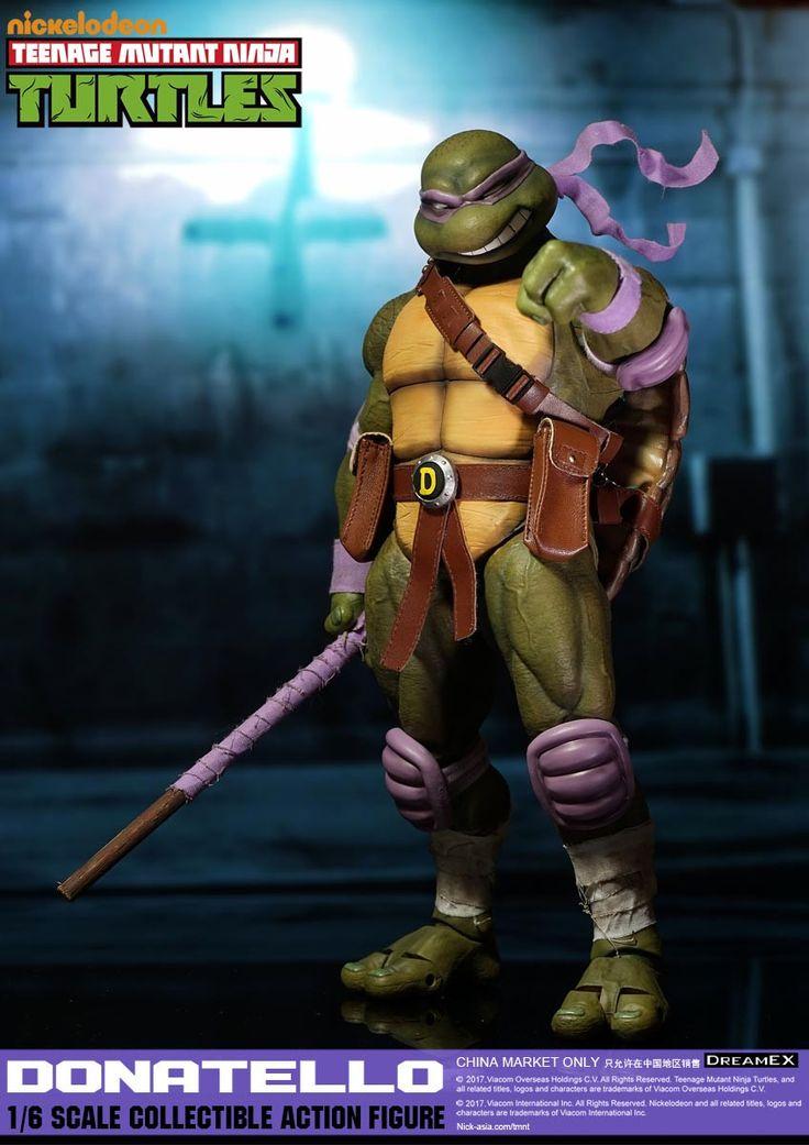 1/6 Scale Donatello Teenage Mutant Ninja Turtle Figure by DreamEX