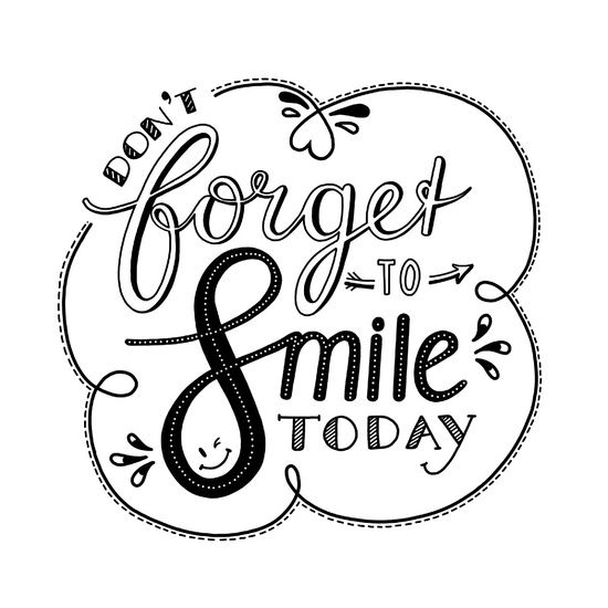 Don't forget to smile - wit van Annemieke Nijenhuis