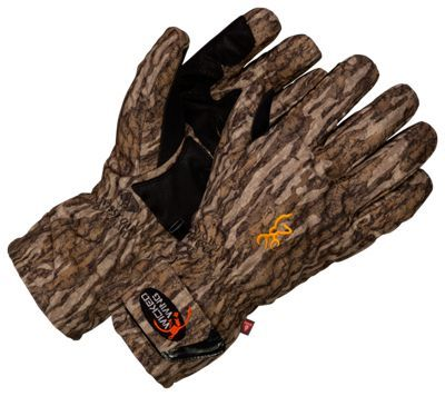 Browning Wicked Wing Insulated Gloves for Men - Mossy Oak Bottomland - XL
