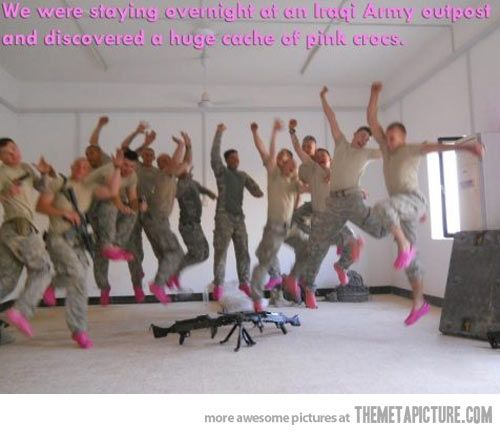Fabulous Army…the greatest. Photo. Ever