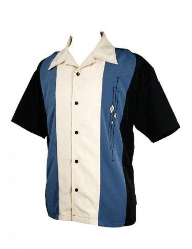 1960's -70's men's shirt in original package - Bluestone vintage shirt ONCRWZ