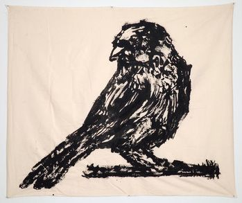 Untitled (Sparrow on a Branch)