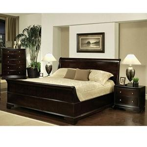 nebraska furniture mart u2013 abbyson living 4 piece queen bedroom set in dark espresso
