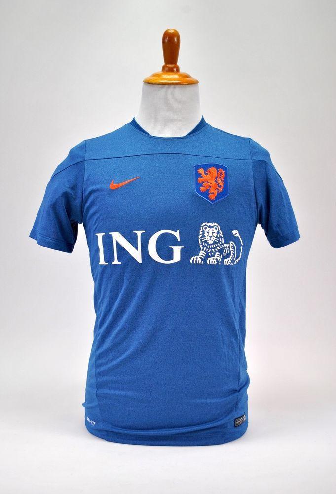 best sneakers 8c318 6fd41 Details about Men's Nike Dri-Fit KNVB Holland Dutch ...