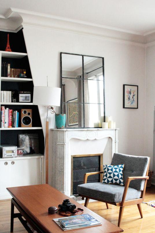 Appartement Parisien Julie Chevillat Créatrice de Coussin Germain - Fauteuil