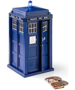 1000 images about piggy banks on pinterest coins diy piggy bank and money bank - Tardis piggy bank ...