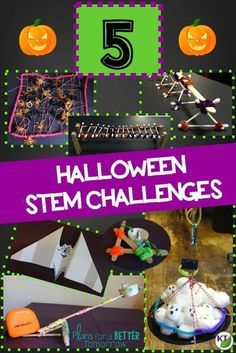 Halloween STEM Challenges: Looking for ways to keep your students engaged in learning before and after Halloween? These challenges require hands-on problem-solving, critical thinking, and cooperative work. Modifications available for grades 2 - 8. (Wings