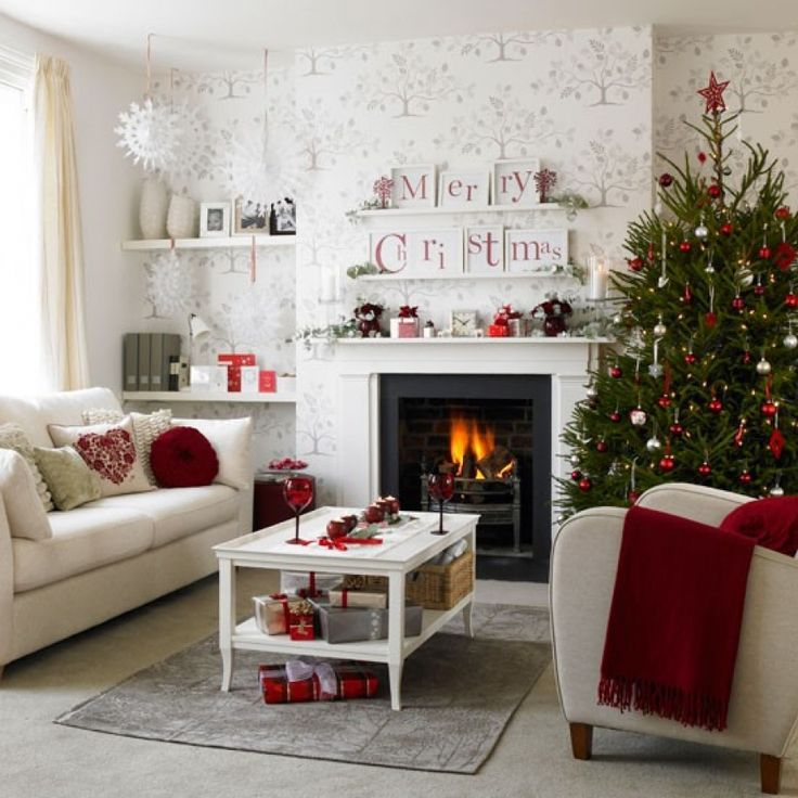446 best Decorating Ideas images on Pinterest Bedroom ideas - contemporary christmas decorations