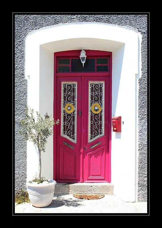 Door decoration - Molyvos, Lesvos, Greece