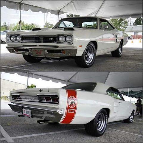 """1969 Dodge Super Bee in """"Alpine White."""""""