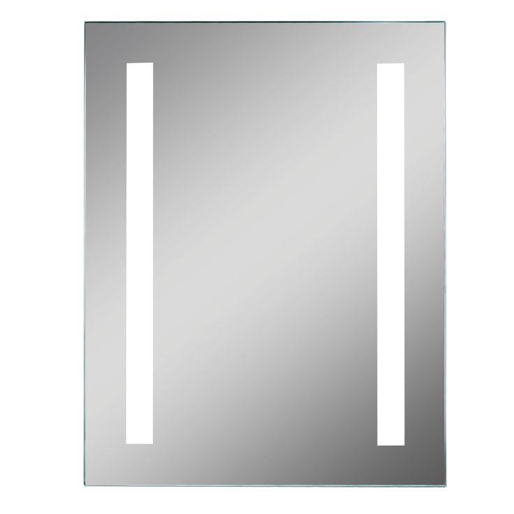 Lumino Clarino Illuminated Bathroom Rectangular Mirror with Shaver Socket…