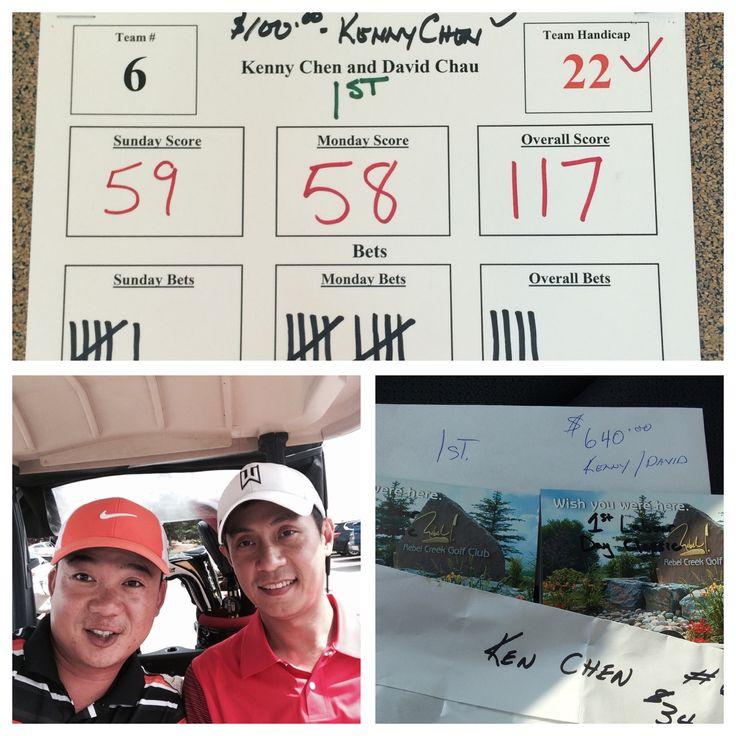 2014 Labour classic tournament champion @golfing @rebelcreek
