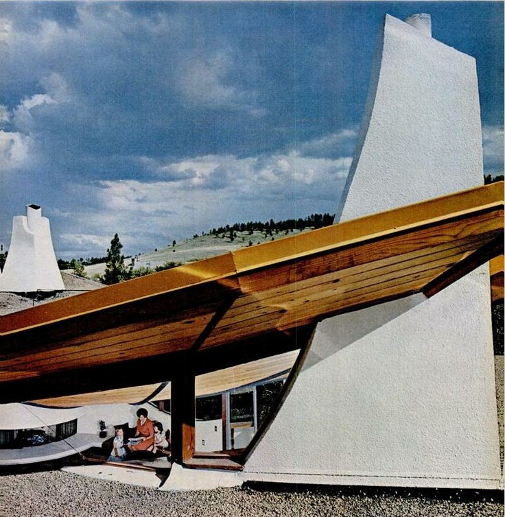 Amazing Architecture Magazine: The Volsky House (1964) In Boulder, Colorado By Charles