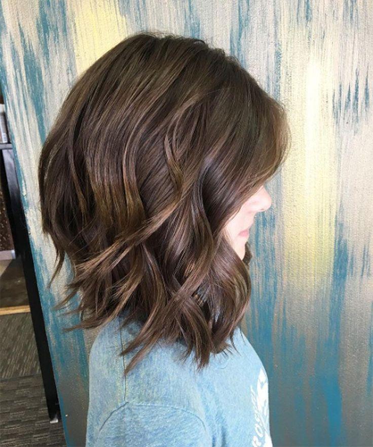 Resultado de imagem para cabelo medio camadas 2018