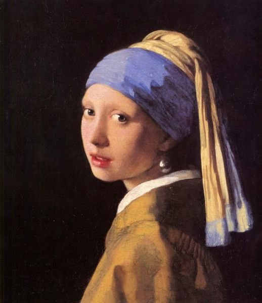 Girl with the Peal Earring, by Johannes #Vermeer. Ca. 1665. The image is a #tronie, the Dutch 17th-century description of a 'head' that was not meant to be a portrait. On VintPrint.com as a #poster. #dutch #portrait #impressionist