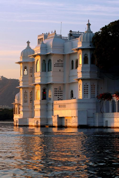We cruise on Lake Pichola and see the Lake Palace Hotel during our India's Palace on Wheels rail tour. http://www.greatrail.com/great-train-tours-holiday-destinations/india--the-orient/udaipur.aspx