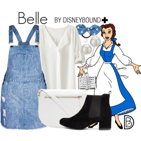 Belle+ by leslieakay on Polyvore featuring City Chic, TravelSmith, Forever 21, Kenneth Jay Lane, Cara, Disney, disney, disneybound and plussize