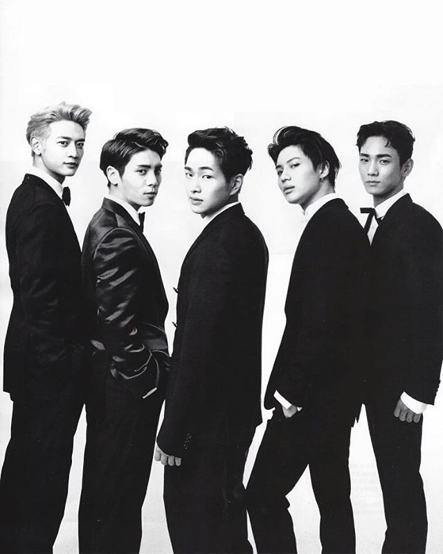 160922 shinee gq korea october issue