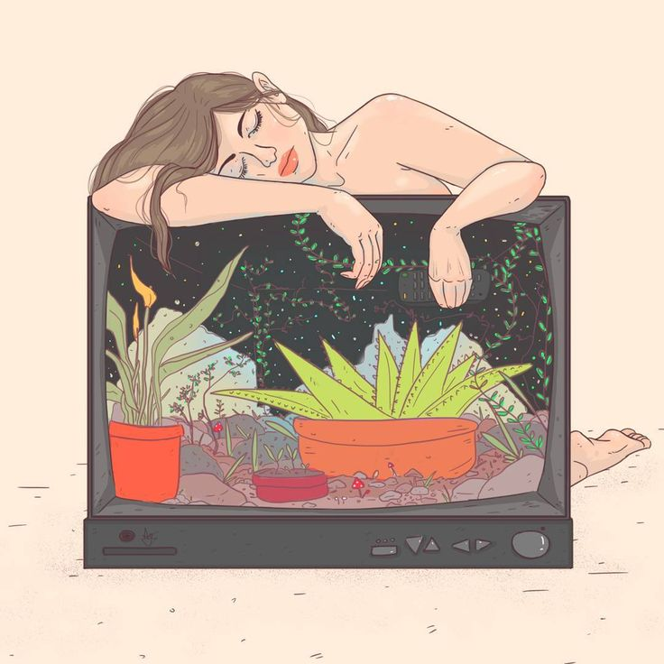 Ana María Guarín (@anaguarin7) en Instagram ••• tv - illustration