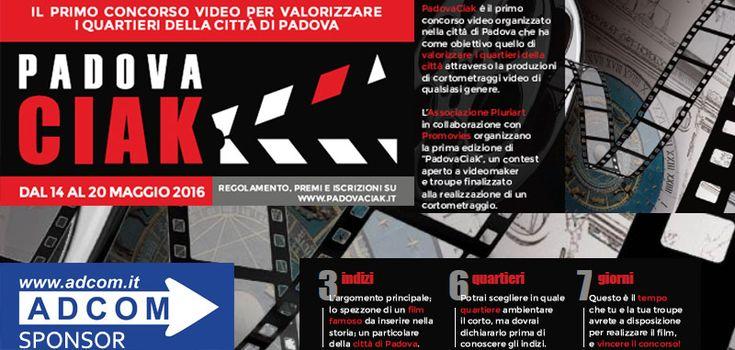 PadovaCiak è un concorso che intende valorizzare i quartieri della città di Padova attraverso la realizzazione di un video.