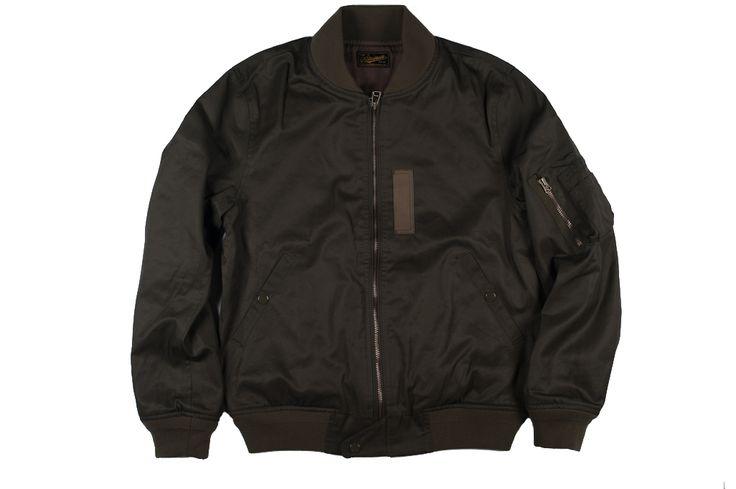 stevenson overall co. - ma-1 spring tencel jacket