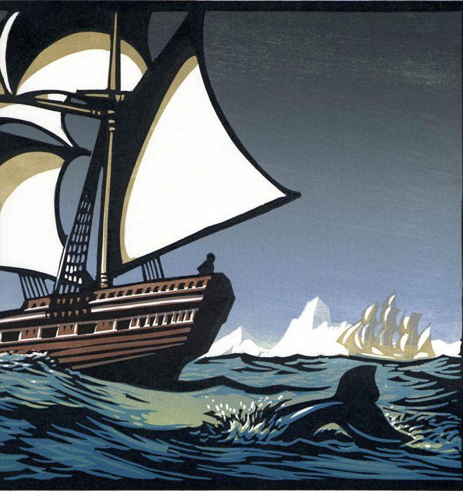 The Arctic Ocean for Equiano Exhibition.