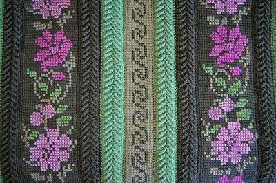 Тунисское вязание крючком. 12 видео уроков