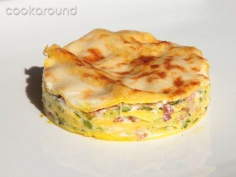 Lasagne zucchine, speck e provola affumicata: Ricette di Cookaround | Cookaround