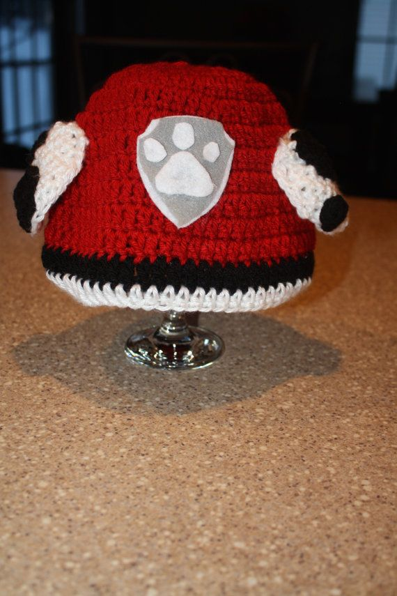 Marshall Paw Patrol Crochet Hat Pattern Free : 1000+ images about Disney hats on Pinterest Crochet hat ...