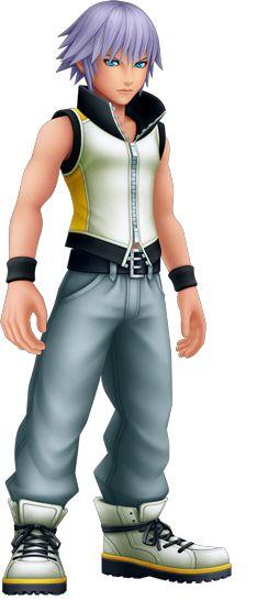 Riku in Kingdom Hearts 3D: Dream Drop Distance.