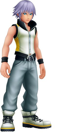 Riku in Kingdom Hearts 3D: Dream Drop Distance.