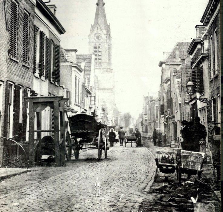 Hoogstraat rond 1900