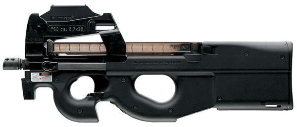 FN P90's FN Herstal {FN 5.7 x 28 mm}Find our speedloader now!  http://www.amazon.com/shops/raeind