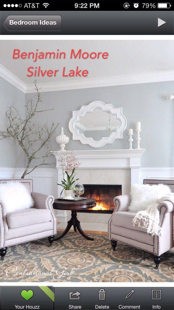 Benjamin Moore Silver Lake