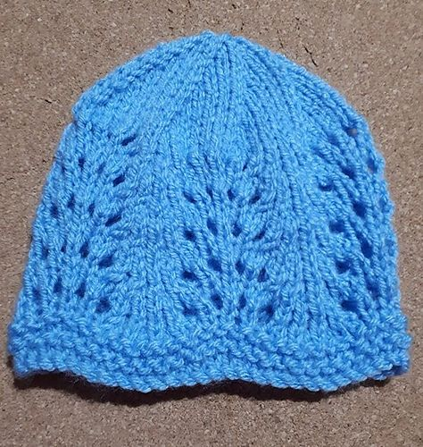 bb444a100c7 Ravelry  Wave of Light Baby Hat pattern by marianna mel