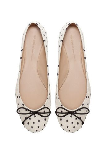 12 Certifiably Chic Ballet Flats To Anchor Every Summer Outfit  #Refinery29