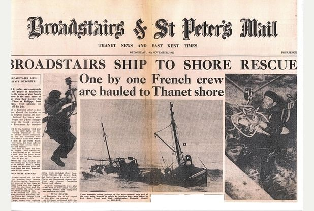 I was a lifeboat man on rescue day | Thanet Gazette