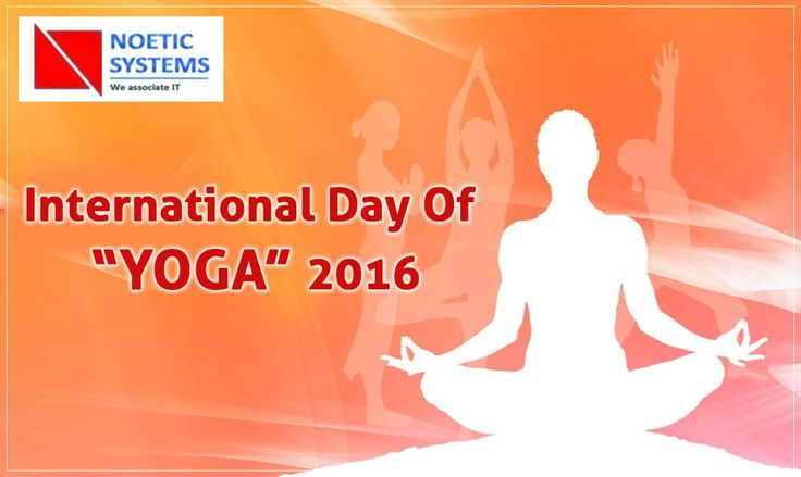Yoga is the practice of quieting the mind. #June21 #InternationalYogaDay #NoeticSystems