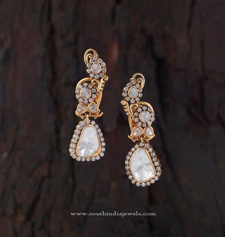 Latest Gold Designer Earrings, Gold Designer Earrings Collections.