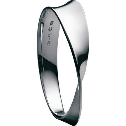 MÖBIUS Sterling Silver Bangle by georgjensen #Bracelet - love love love