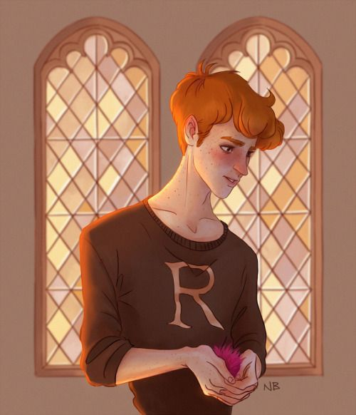 Natello's Art Ron weasley is so cute !