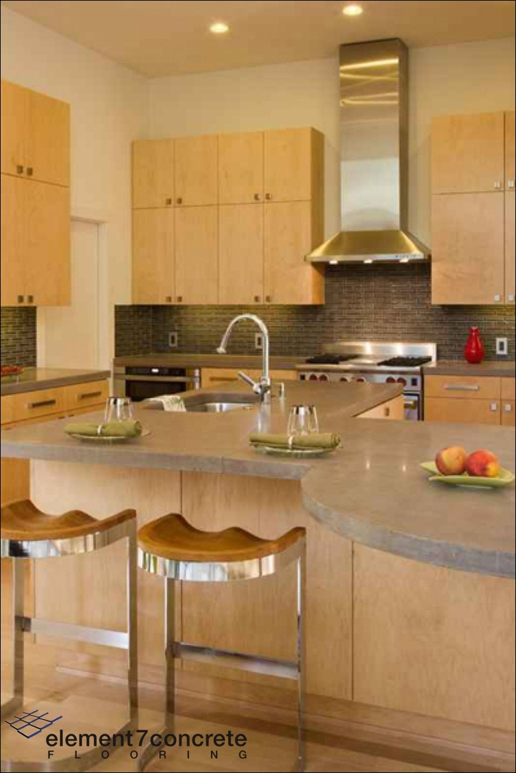 Concrete Is An Interesting Material For Counter Tops It