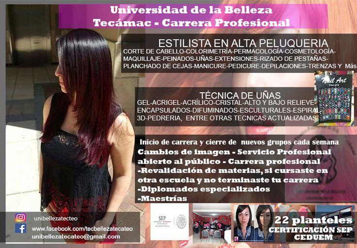 universidad  de belleza Tecámac y Teotihuacán 4