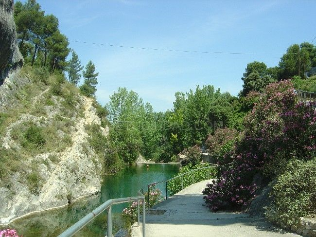 Pou Clar - natural mini lakes in Ontinyent (Valencia) Spain, is a nice place for summer