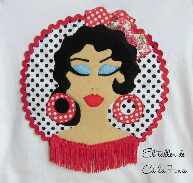 Cá la Fina.  Camisetas flamencas para romerías 3