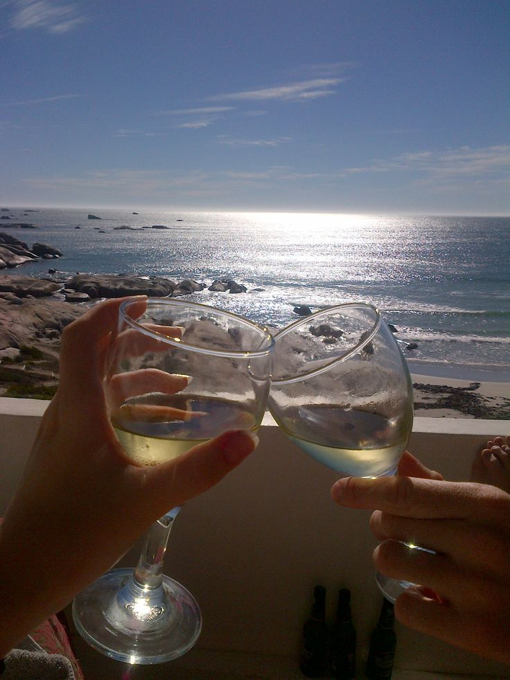 Paternoster, South Africa. Lazy days, day drinking - with a stunning view of the ocean.