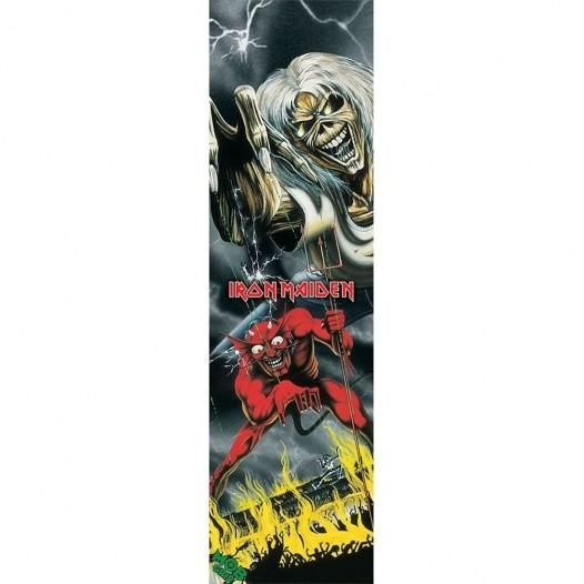 """Mob Iron Maiden Number of the Beast 9"""" x 33"""" Skateboard Grip Tape"""