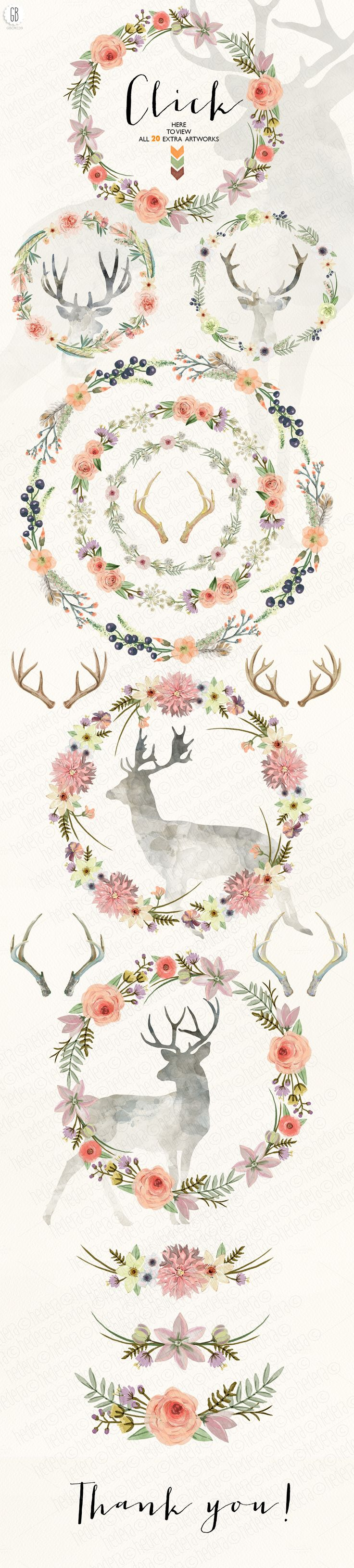 BUNDLE Complete Wild collection + by GrafikBoutique on Creative Market