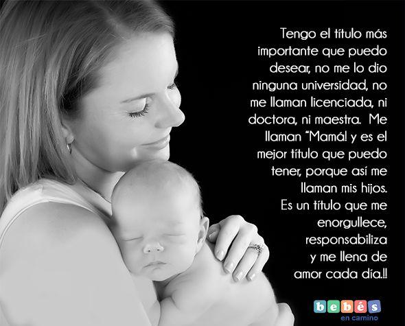 Amor Es Frases: 17 Best Images About Frases De Mamás Y Bebés On Pinterest