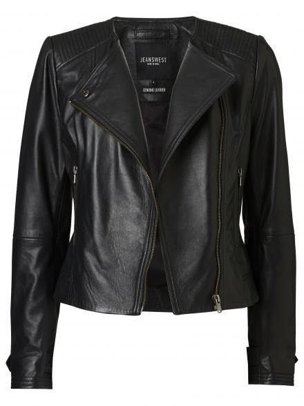 Victoria Biker Leather Jacket